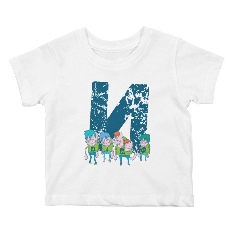 Idyut Sqwad Kids Baby T-Shirt by [NANO]'s Tienda