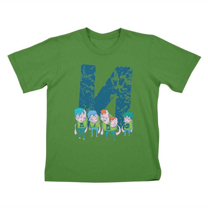 Idyut Sqwad Kids T-shirt by [NANO]'s Tienda