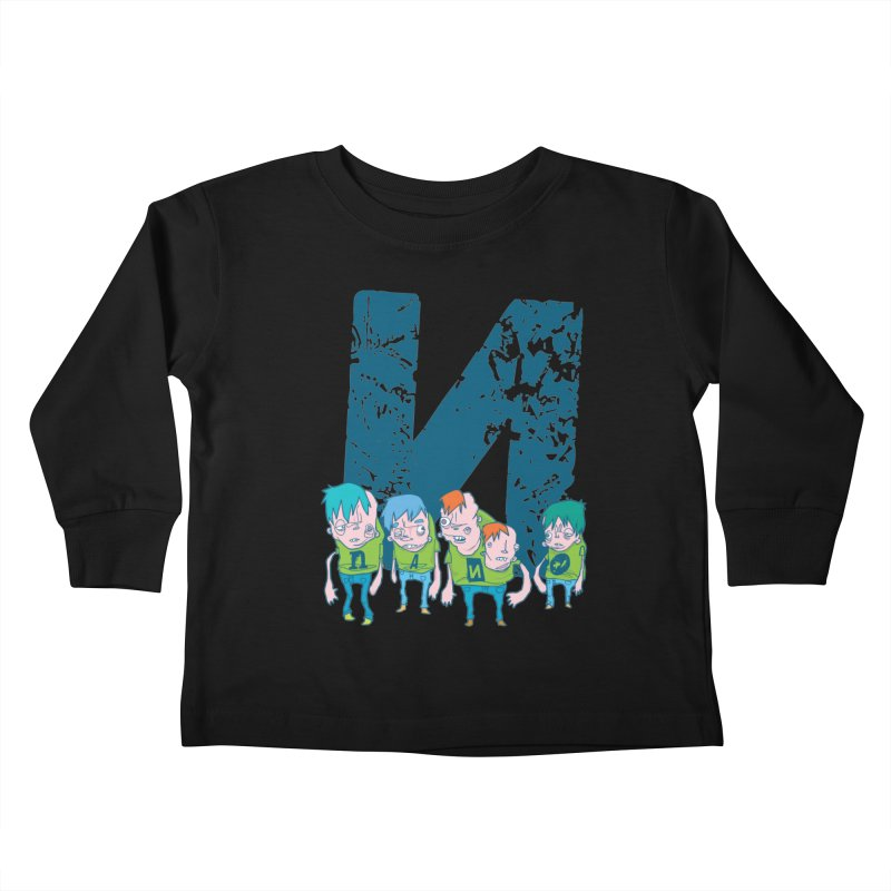 Idyut Sqwad Kids Toddler Longsleeve T-Shirt by [NANO]'s Tienda