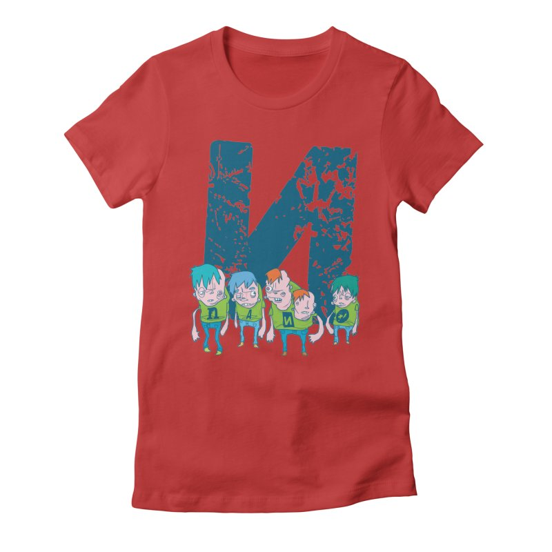 Idyut Sqwad Women's Fitted T-Shirt by [NANO]'s Tienda