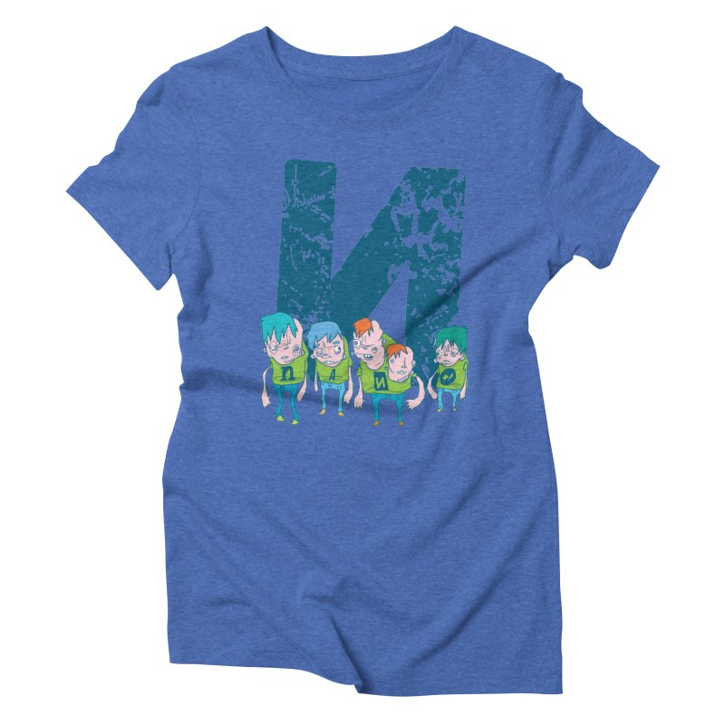 Idyut Sqwad Women's Triblend T-shirt by [NANO]'s Tienda