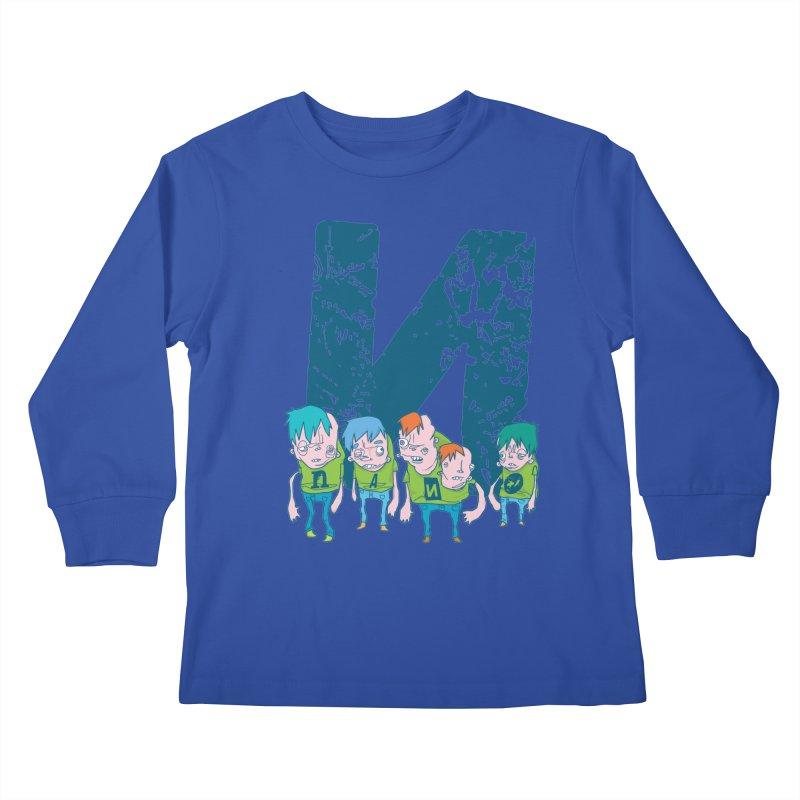 Idyut Sqwad Kids Longsleeve T-Shirt by [NANO]'s Tienda
