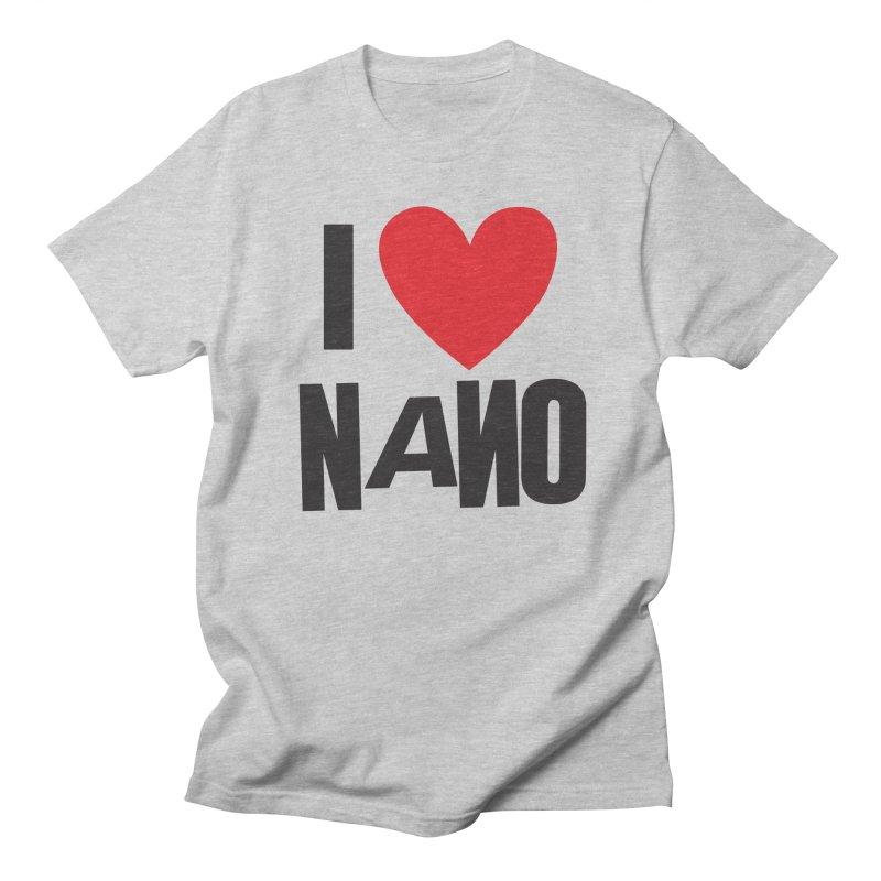 I ♥︎ NANO Men's Regular T-Shirt by [NANO]'s Tienda
