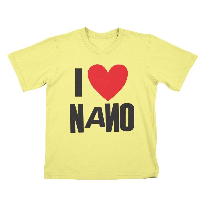 I ♥︎ NANO Kids T-shirt by [NANO]'s Tienda