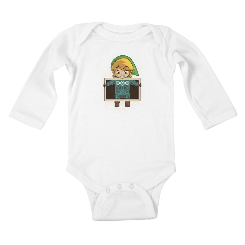 Anatomical Anomaly Kids Baby Longsleeve Bodysuit by Naolito
