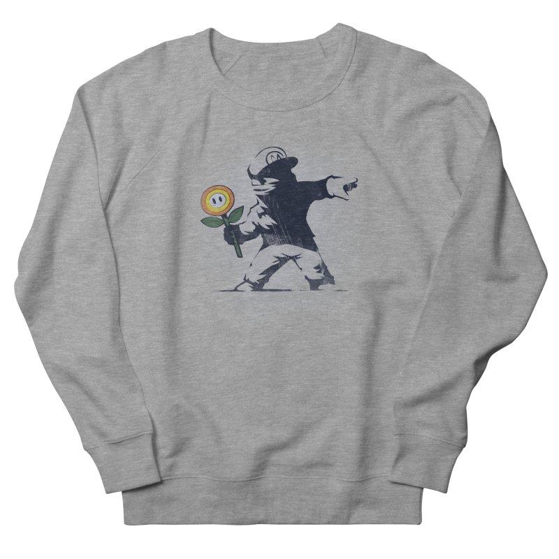 Banksy Flower Men's Sweatshirt by Naolito