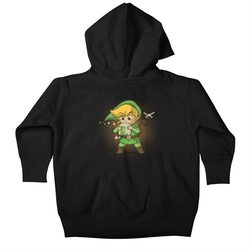 Cartridge of Time Kids Baby Zip-Up Hoody by Naolito