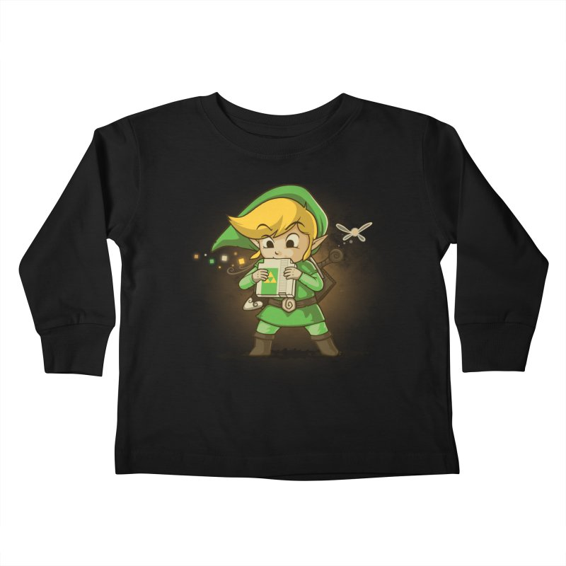 Cartridge of Time Kids Toddler Longsleeve T-Shirt by Naolito