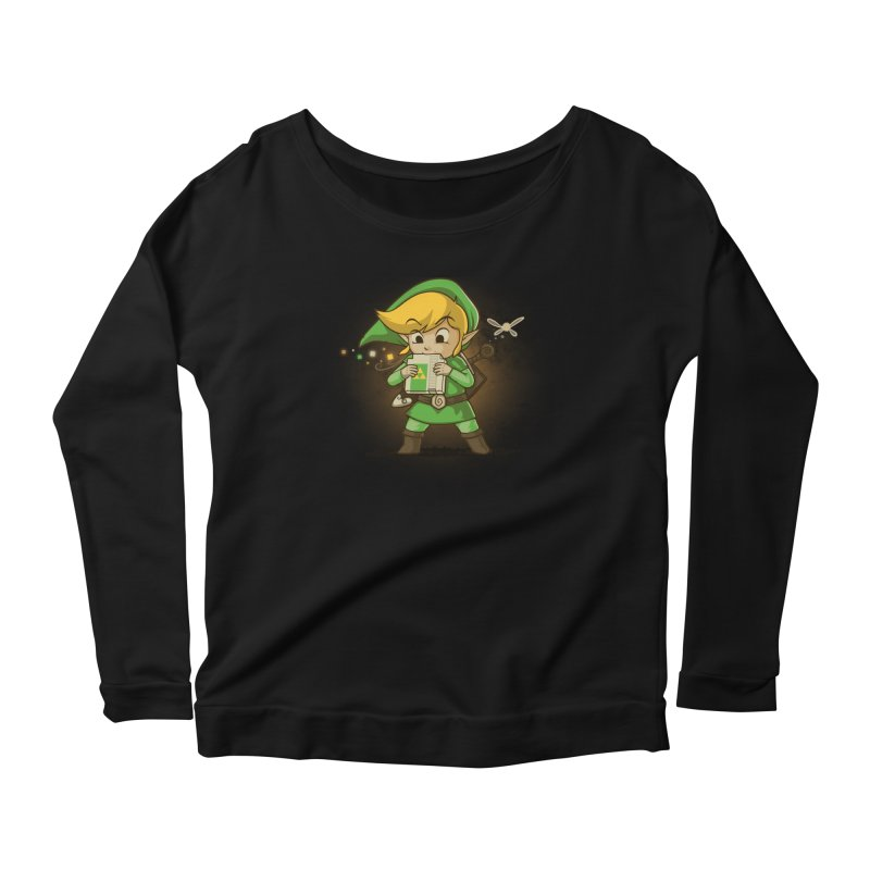 Cartridge of Time Women's Longsleeve Scoopneck  by Naolito