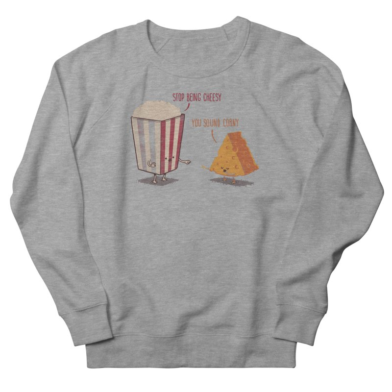 Corny Cheesy Women's Sweatshirt by Naolito