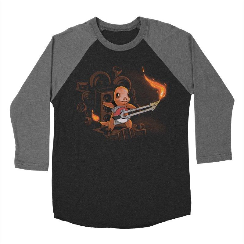 Fire Road Men's Baseball Triblend T-Shirt by Naolito