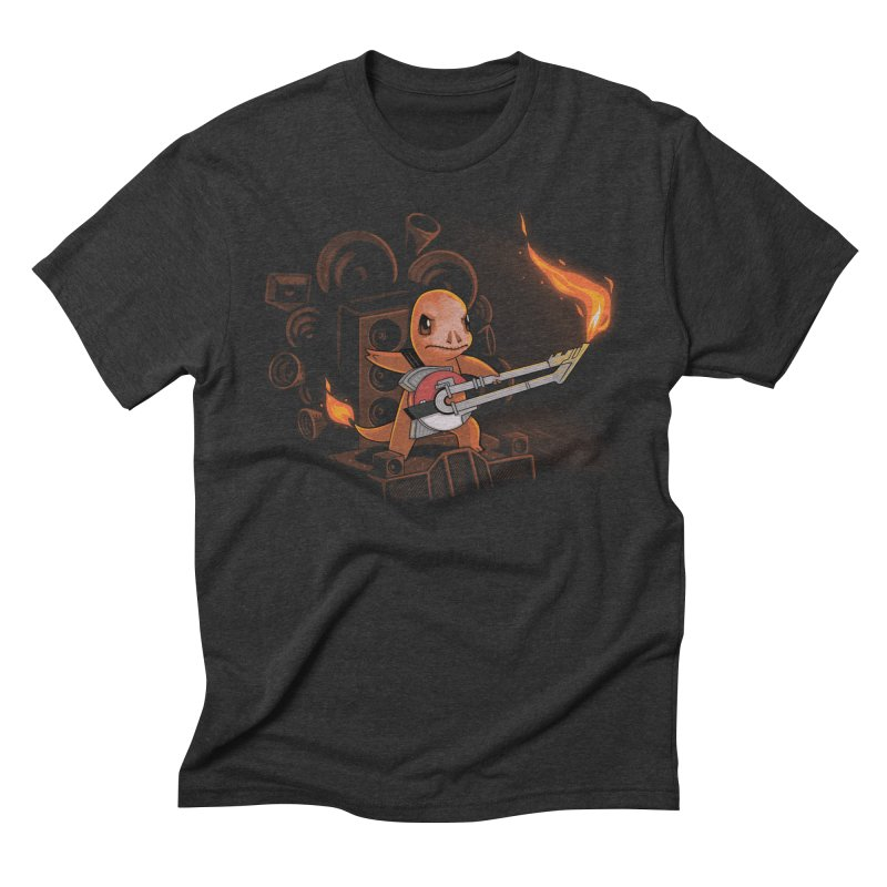 Fire Road Men's Triblend T-shirt by Naolito
