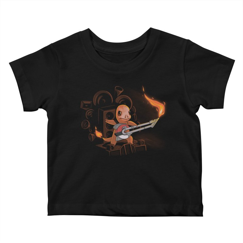Fire Road Kids Baby T-Shirt by Naolito