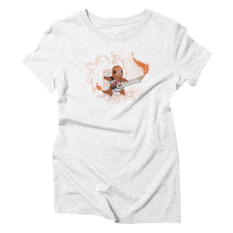 Fire Road Women's Triblend T-shirt by Naolito