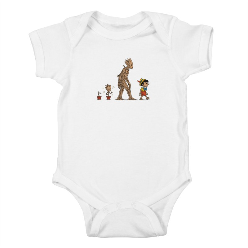Galactic Evolution Kids Baby Bodysuit by Naolito