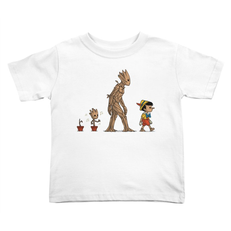 Galactic Evolution Kids Toddler T-Shirt by Naolito