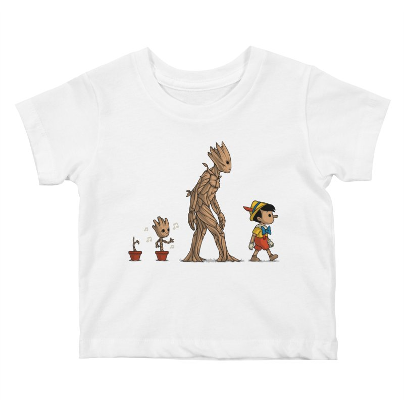 Galactic Evolution Kids Baby T-Shirt by Naolito