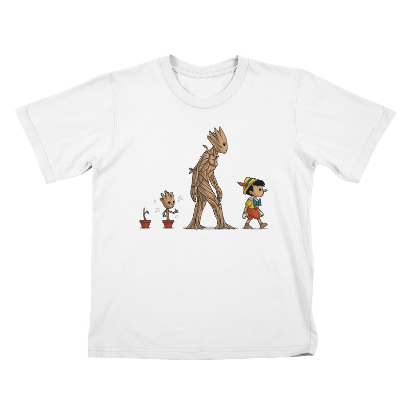Galactic Evolution Kids T-Shirt by Naolito