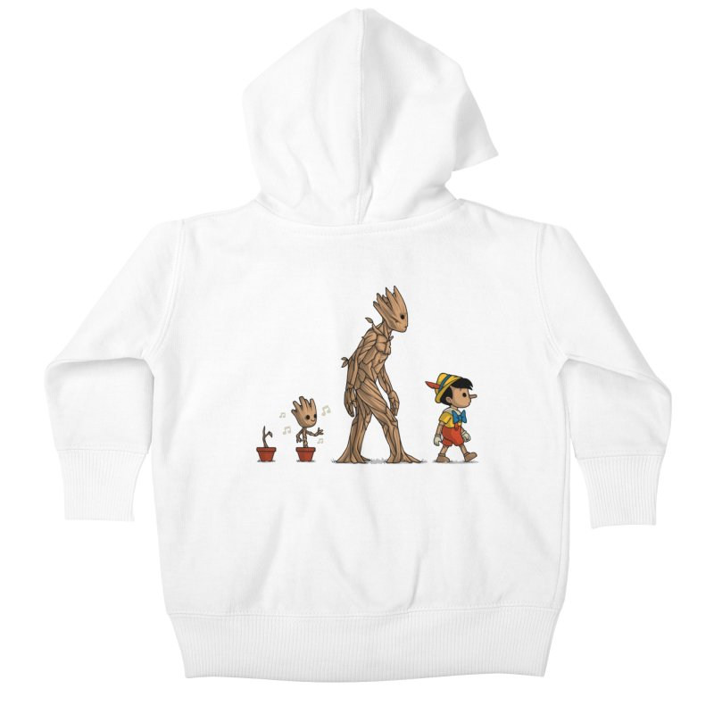 Galactic Evolution Kids Baby Zip-Up Hoody by Naolito
