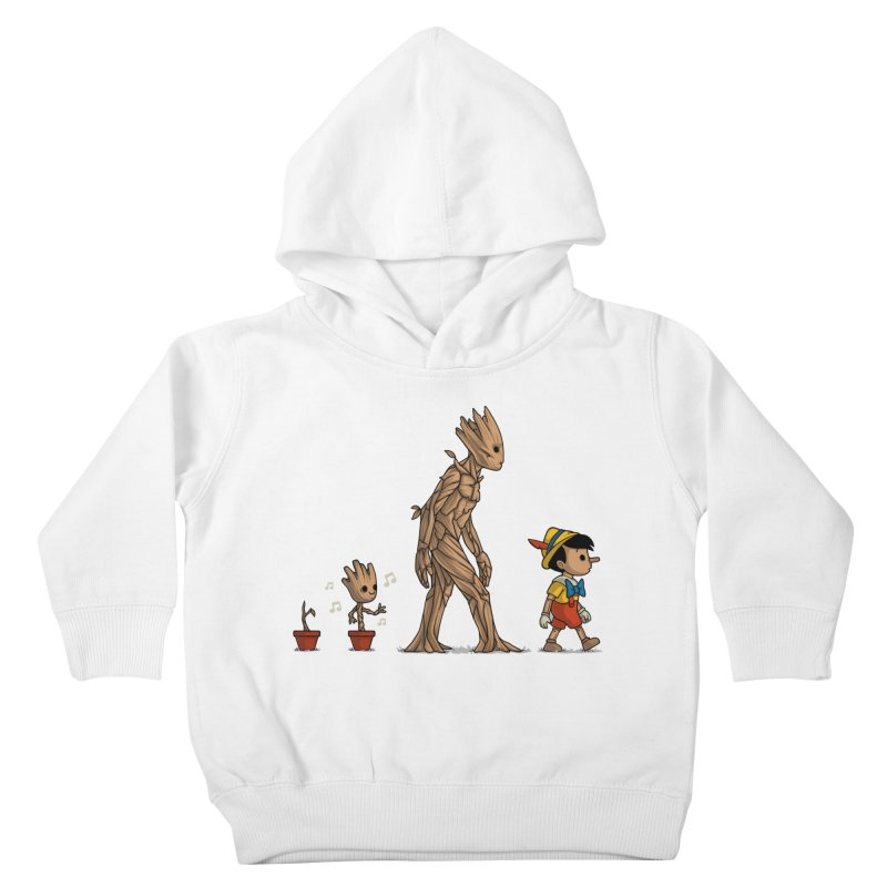 Galactic Evolution Kids Toddler Pullover Hoody by Naolito