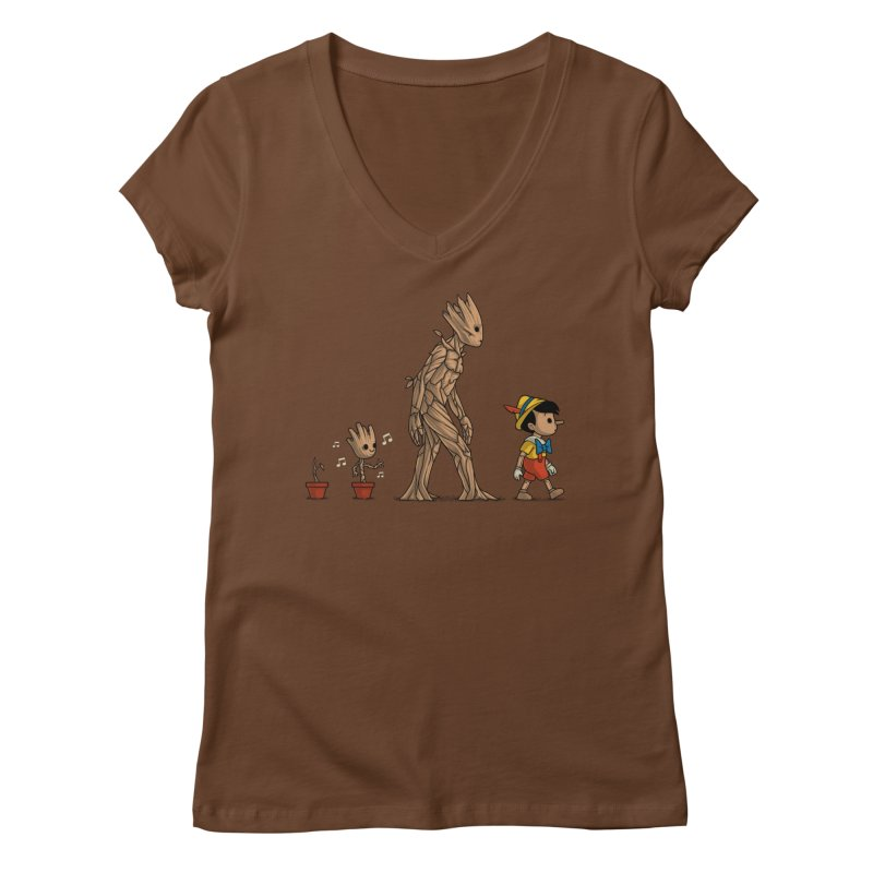 Galactic Evolution Women's V-Neck by Naolito