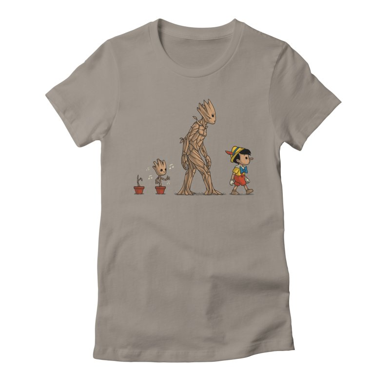 Galactic Evolution Women's Fitted T-Shirt by Naolito