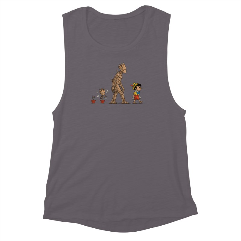 Galactic Evolution Women's Muscle Tank by Naolito