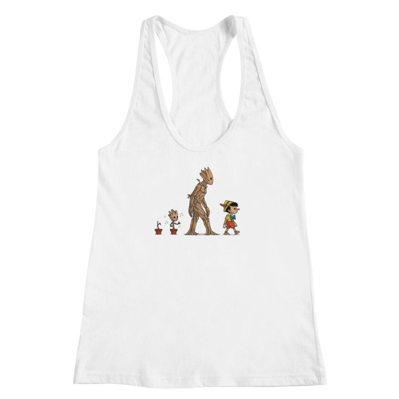 Galactic Evolution Women's Racerback Tank by Naolito