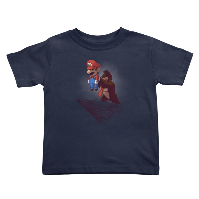 Gaming King Kids Toddler T-Shirt by Naolito