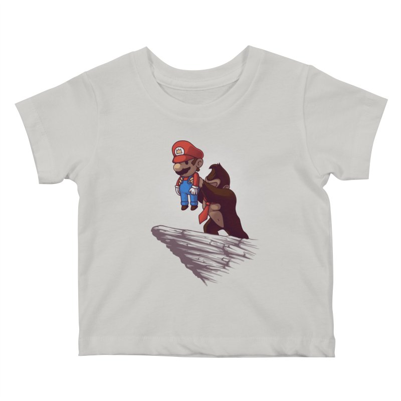 Gaming King Kids Baby T-Shirt by Naolito