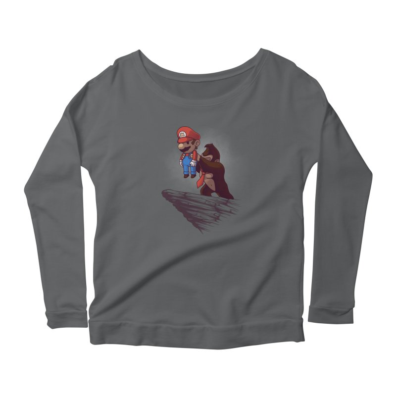 Gaming King Women's Longsleeve Scoopneck  by Naolito