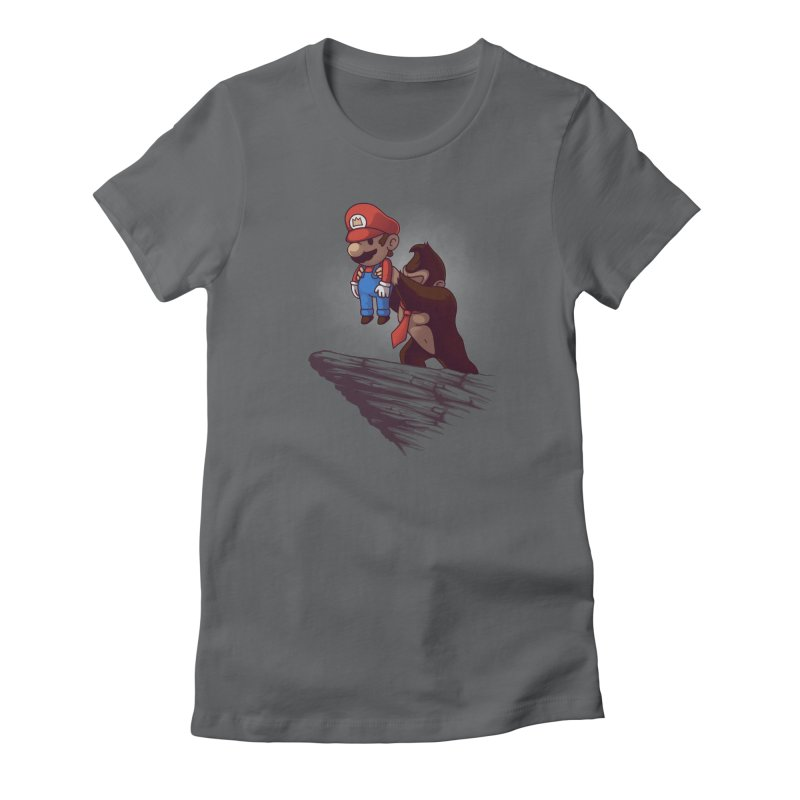 Gaming King Women's Fitted T-Shirt by Naolito