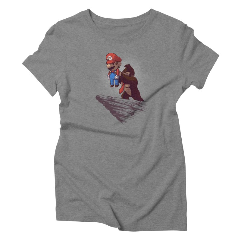 Gaming King Women's Triblend T-Shirt by Naolito