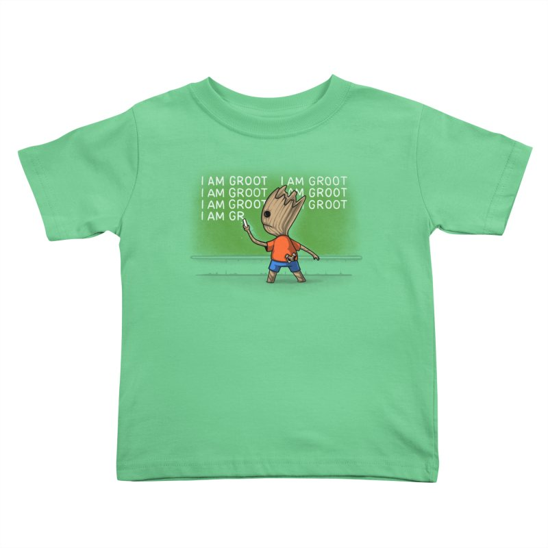 Groot's Detention Kids Toddler T-Shirt by Naolito
