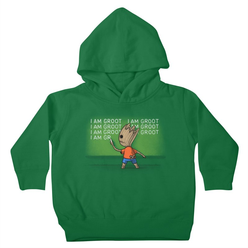 Groot's Detention Kids Toddler Pullover Hoody by Naolito