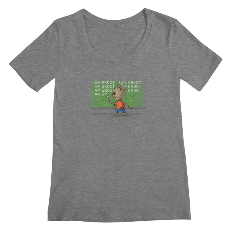 Groot's Detention Women's Scoopneck by Naolito