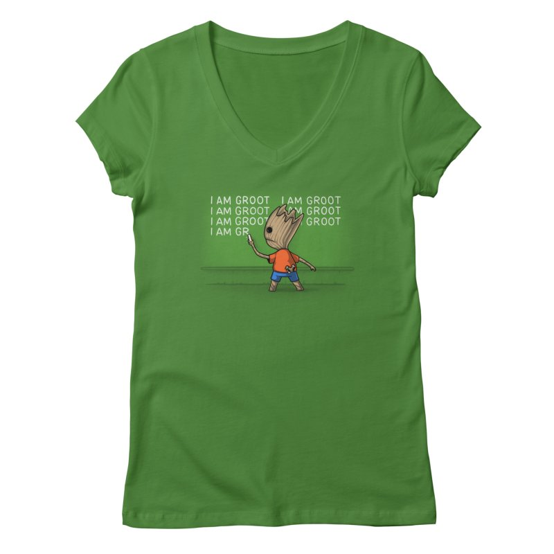 Groot's Detention Women's V-Neck by Naolito