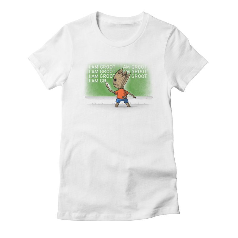 Groot's Detention Women's Fitted T-Shirt by Naolito