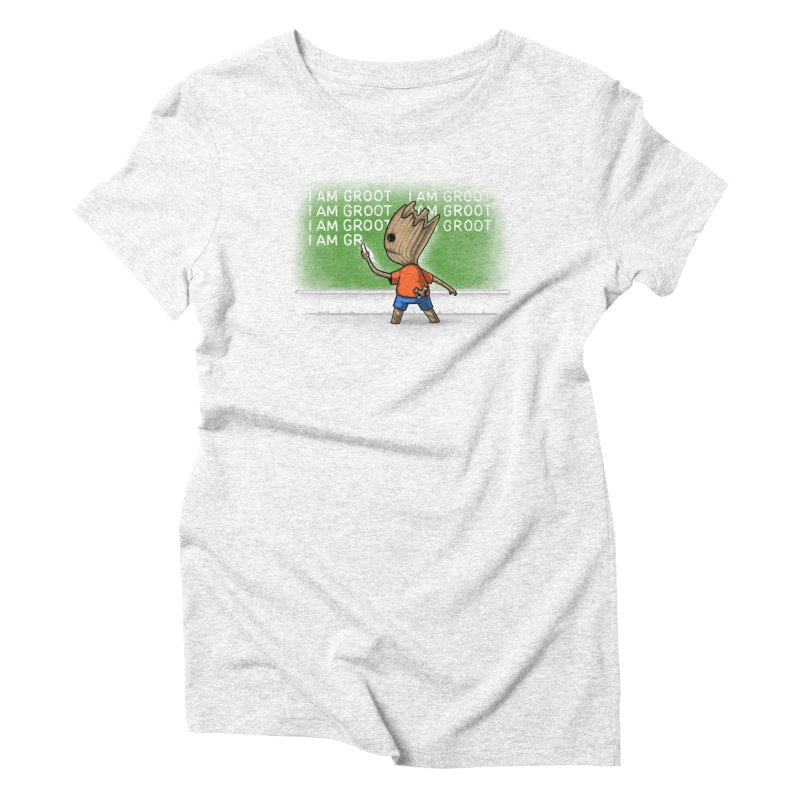 Groot's Detention Women's Triblend T-shirt by Naolito