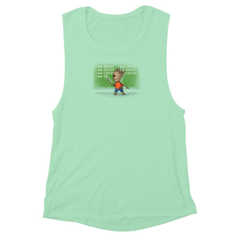 Groot's Detention Women's Muscle Tank by Naolito