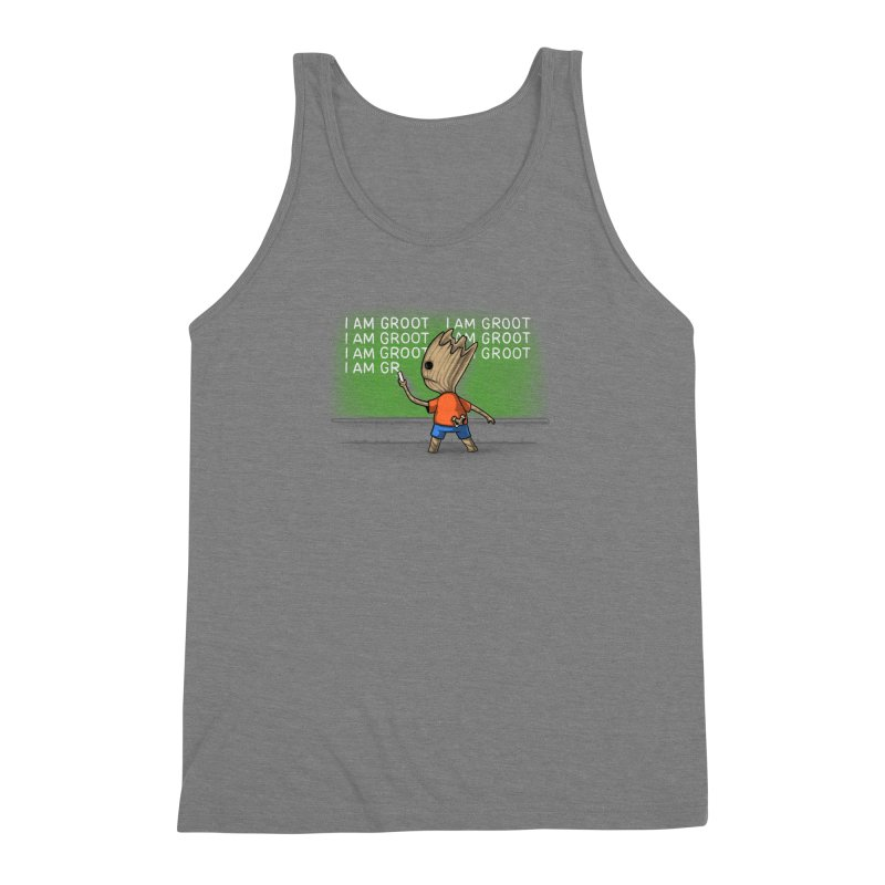 Groot's Detention Men's Triblend Tank by Naolito