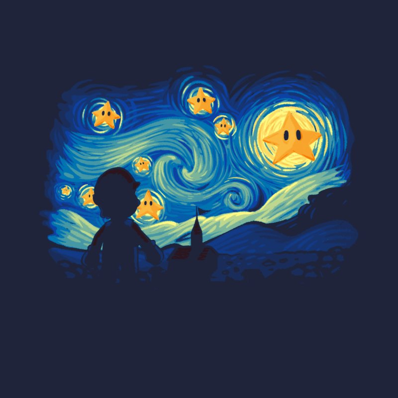 Super Starry Night None  by Naolito