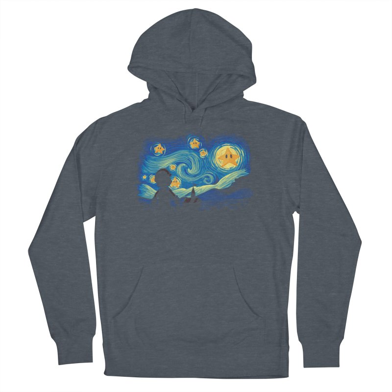 Super Starry Night Women's Pullover Hoody by Naolito
