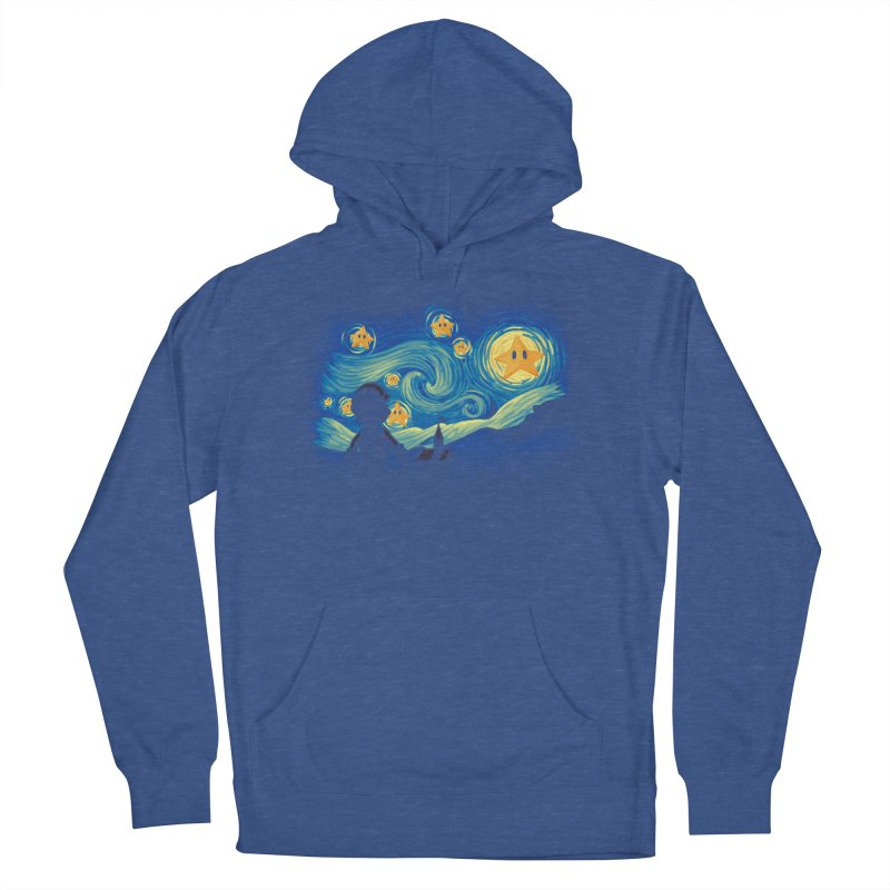 Super Starry Night Men's Pullover Hoody by Naolito