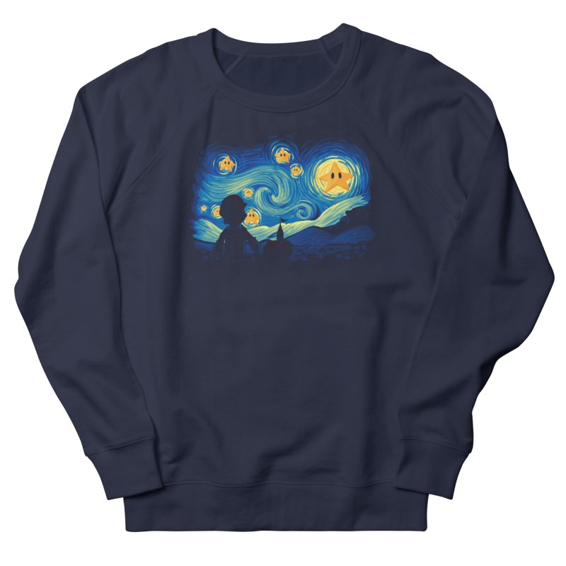 Super Starry Night Women's Sweatshirt by Naolito
