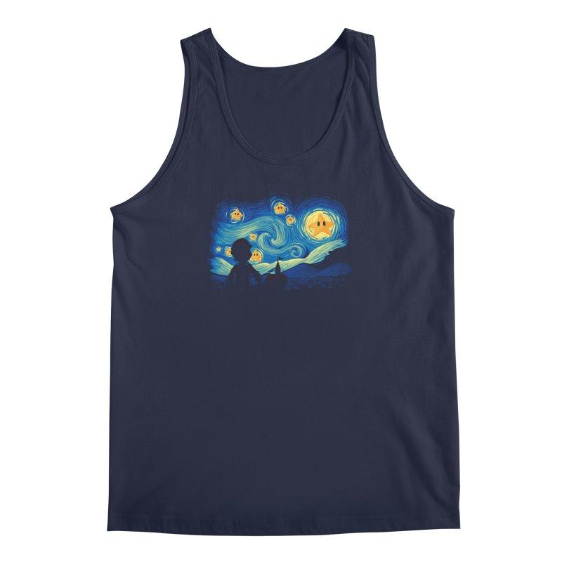 Super Starry Night Men's Tank by Naolito