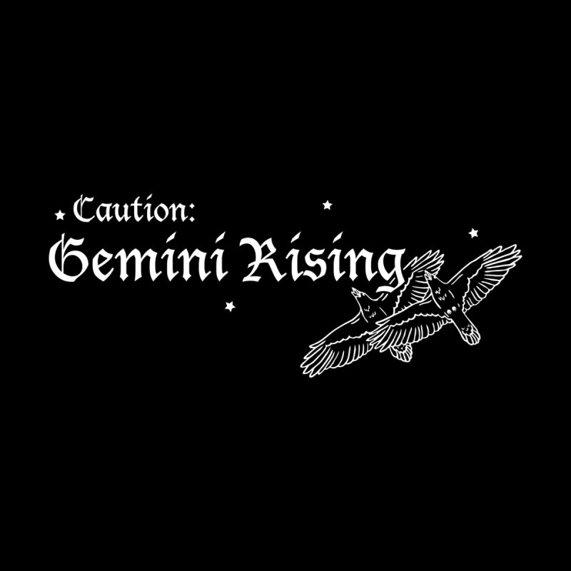 Caution: Gemini Rising Women's Longsleeve T-Shirt by Naomi Mariko Creates