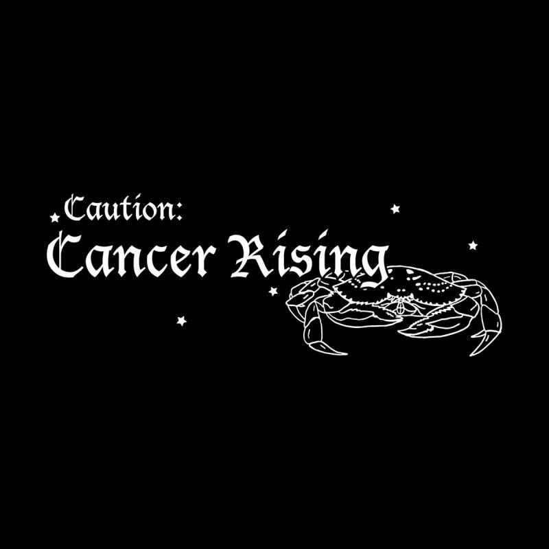 Caution: Cancer Rising Men's Longsleeve T-Shirt by Naomi Mariko Creates