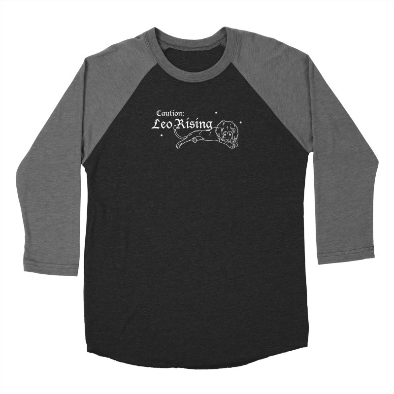 Caution: Leo Rising Women's Longsleeve T-Shirt by Naomi Mariko Creates