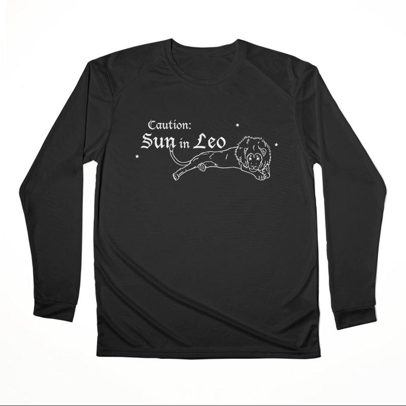 Caution: Sun in Leo Women's Longsleeve T-Shirt by Naomi Mariko Creates